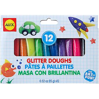 Dough Set 12pc-Glitter 216GG