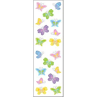 Mrs. Grossman's Stickers Petite Butterflies Mg199 23043