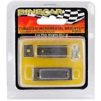 Pine Car Derby Weights 2 Ounces Tungsten Incremental Plate P3916