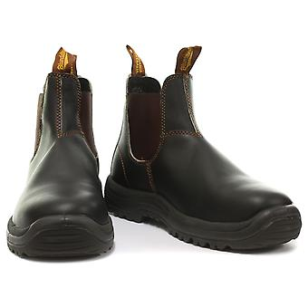 Blundstone 192 Steel Toe Brown Unisex Safety Boots