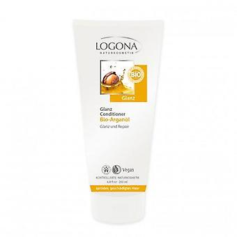 Logona Lucentezza dei capelli Conditioner Argan
