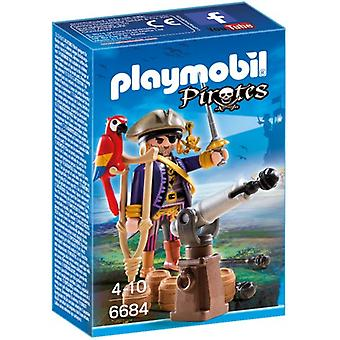 Playmobil 6684 Piratenkapitein Eénoog