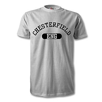 Chesterfield England Stadt Kinder T-Shirt