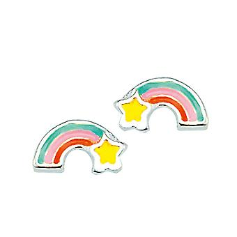 Scout children earrings ear cutter silver Rainbow Girl 262171100