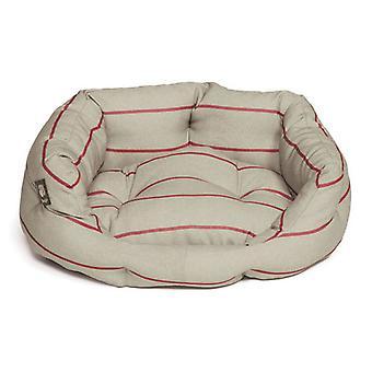 Heritage Herringbone Deluxe Slumber Bed 45cm (18