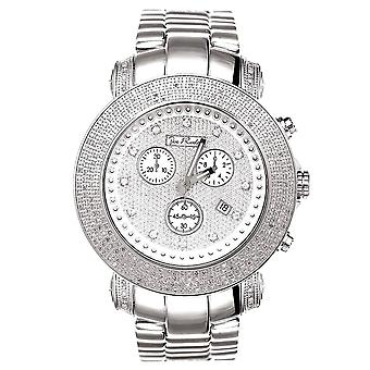 Joe Rodeo diamond men's watch - JUNIOR Silver 3.3 ctw
