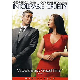 Intolerable Cruelty [DVD] USA import
