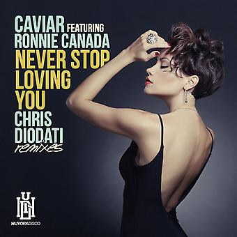 Kaviar - aldrig Stop Loving You (Chris Diodati Remixes) [CD] USA import