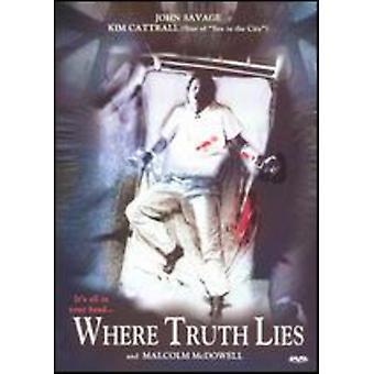 Hvor sandheden ligger [DVD] USA importerer