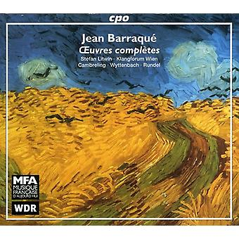 J. Barraque - Jean Barraque: Oeuvres Compl Tes [CD] USA import