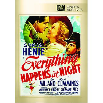 Everything Happens at Night [DVD] USA import