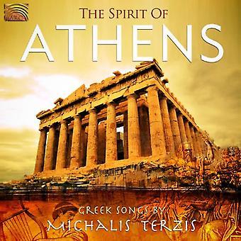 Michalis Terzis - Geist von Athen: griechische Lieder [CD] USA Import