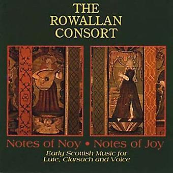Rowallan Consort - noter af Nov. noter af glæde [CD] USA import