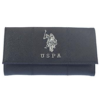 U.S. POLO ASSN. Ladies ' wallet Stud closure 19 x 2.5 x 10 cm