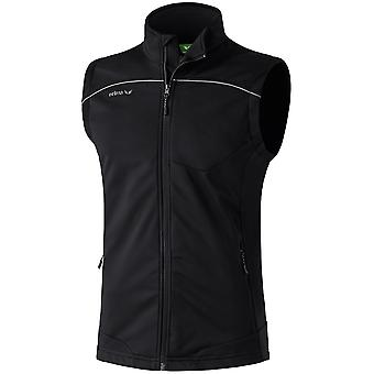 Erima men Softshell jacket black - 906514