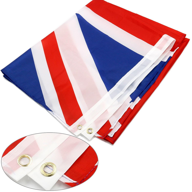 TRIXES stora Storbritannien Union Jack 5 ft x 3 ft Rio olympiska spelen 2016 flagga
