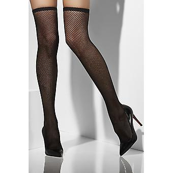 Black hold up stockings