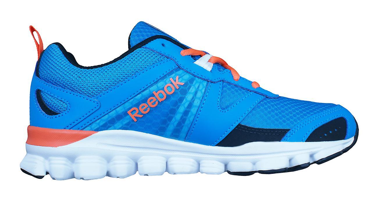 Reebok Hexaffect laufen Jungs laufen Trainer / Schuhe - hellblau
