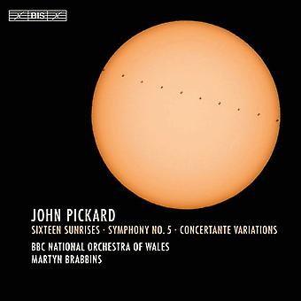 Pickard / BBC National Orchestra of Wales - John Pickard: seksten solopgange [SACD] USA import