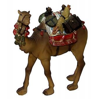 Camel with saddle and luggage for Nativity crib crib for 12 cm figures