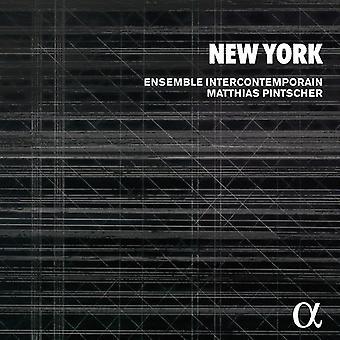 Ensemble Intercontemporain / Pintscher, Matthias - New York: Varese Carter Odder Shepherd Reich bur Feldman [CD] USA import