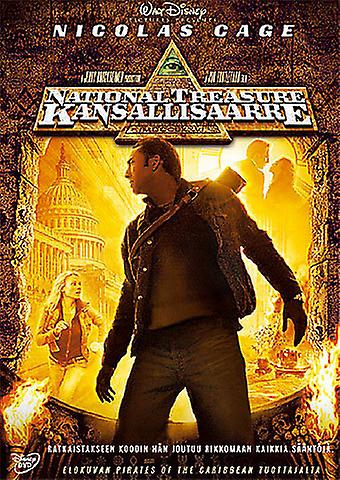 National Treasure - kansallisaarre (DVD)