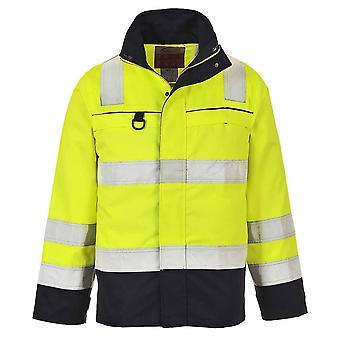Portwest - Hi-Vis Flame Resistant Safety Workwear Multi-Norm Jacket