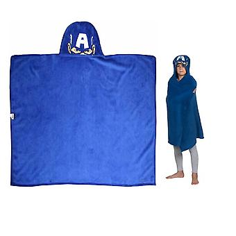 Marvel Avengers Captain America Hooded Cuddle Blanket 120cm x 80cm