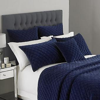 Riva Home Limited Edition Turenne Diamond Quilted Pillowsham Cushion Cover