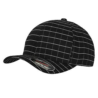 Yupoong Flexfit Unisex Square Check Baseball Cap