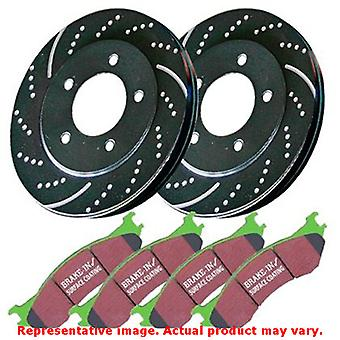 EBC Brake Kit - S3 Greenstuff 6000 and GD Rotors S3KF1188 Fits:INFINITI  2008 -