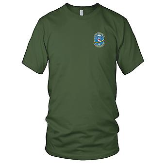 USAF Airforce - 301st Rescue Squadron geborduurd Patch - Mens T Shirt