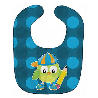 Carolines Treasures  BB9028BIB Back to School Boy Bird Baby Bib