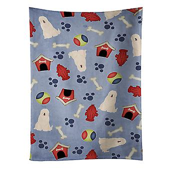 Dog House Collection South Russian Sheepdog Kitchen Towel