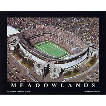 Mike Smith Meadowlands NY Jets im Giants Stadium Poster Print von Mike Smith (10 x 8)