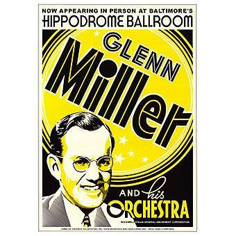 Glenn Miller Hippodrome Ballroom Balti Poster Print (17 x 24)