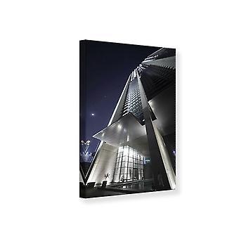 Canvas Print wolkenkrabbers In Dubai
