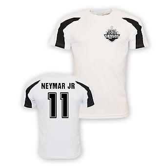 Neymar Jr Santos Sport Training Jersey (weiß) - Kinder