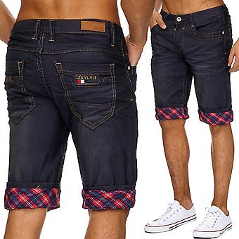 Men's classic Stonewashed jeans Shorts Pants straight of shorts denim summer cargo
