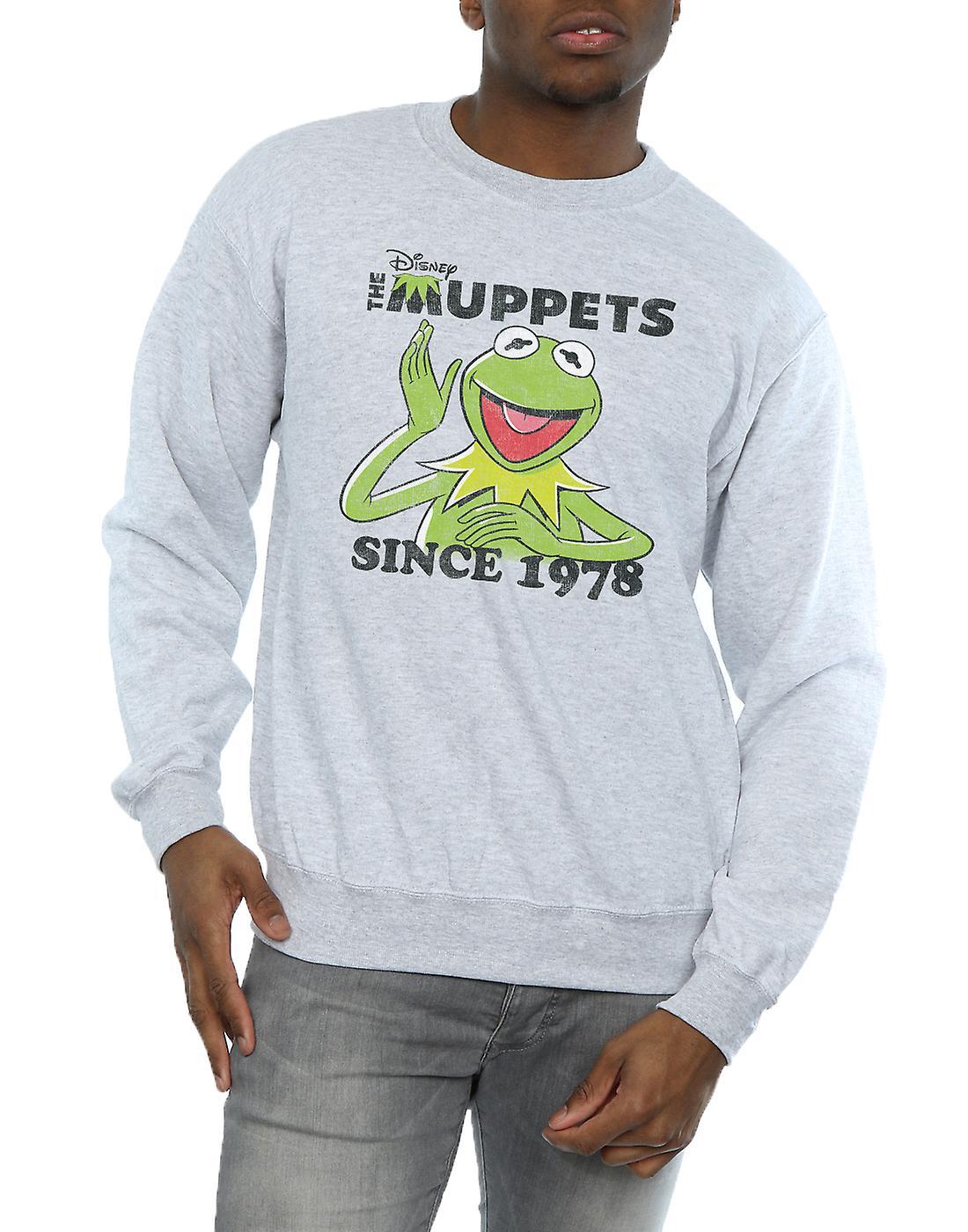 Disney Men's The Muppets Kermit Since 1978 Sweatshirt