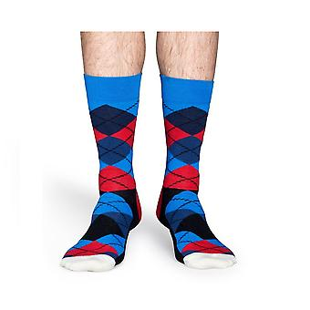 Calcetines Happy Argyle calcetines - azul