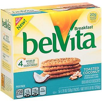 Belvita Toasted Coconut Breakfast Biscuits 2 Box Pack