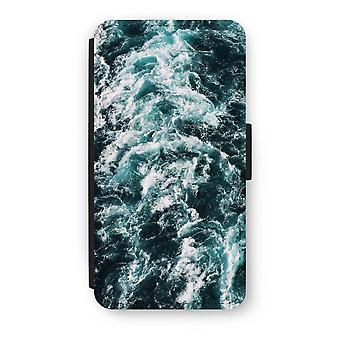 iPod Touch 6 Flip Case - Ocean Wave