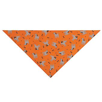 I Shield Dog & Bones Bandana Carrot