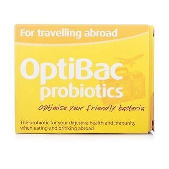 OptiBac probióticos para viajar al extranjero