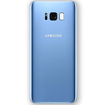 Samsung GH82-14015D battery cover cover for Galaxy S8 plus G955F + adhesive tape Blau