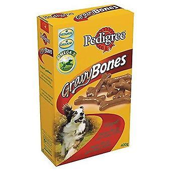 Pedigree Gravy Bones Original Dog Treat 400g