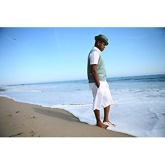 Higher Fees Apply Ne-Yo Aka Shaffer Chimere Smith Posing For A Portrait For Exclusive Portraits Ne-Yo On The Beach Malibu Ca May 4 2008 Photo By Zach CordnerEverett Collection Celebrity