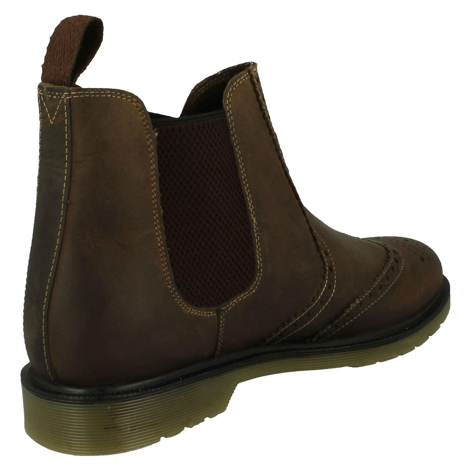 Boots Size 7 8 Belper Leather 10 Mens 41 M120404 Brown Size UK US EU Oak Size Trak Chelsea ItwIxPvT