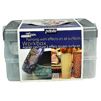 Pebeo Fantasy Moon Studio Collection Workbox 10 x 45ml